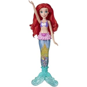Disney Princess Glitter 'n Glow Ariel Doll w/ Lights for $31