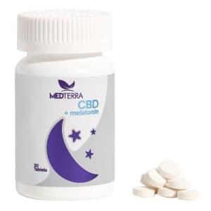 Medterra 750mg Dissolvable CBD Sleep Tablets for $36
