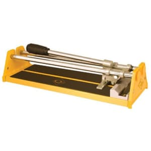 QEP Tile Cutter, 1/2 in Cap, 14 in, Yellow for $31
