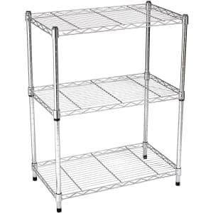 Amazon Basics 3-Shelf, Heavy Duty Storage Unit for $38
