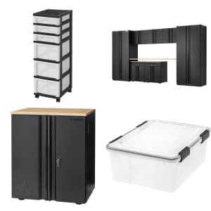 Garage and Household Storage Solutions at Home Depot: 30% off