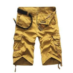 Men's Knee Length Shorts: 2 for $16