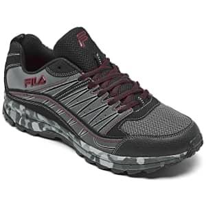 Fila Men's Evergrand Trail Running Sneakers for $30