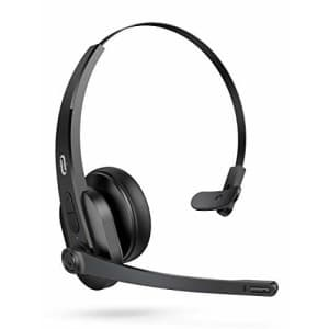 TaoTronics Wireless Bluetooth Headset with Microphone for $50