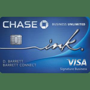 Chase Ink Business Unlimited® Credit Card: Earn $750 bonus cash back