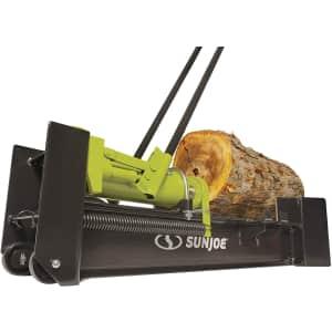 Sun Joe 10-Ton Hydraulic Log Splitter for $157