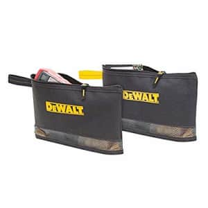 Custom LeatherCraft DEWALT DG5102 Multi-Purpose Zip Bags, 2 Pack for $20