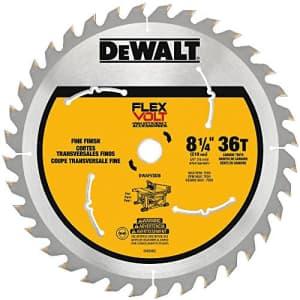 """DeWalt Flexvolt 8-1/4"""" Circular Saw Blade for $32"""