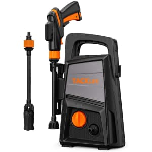 Tacklife 1,500-PSI 1.3 GPM Electric Pressure Washer for $65