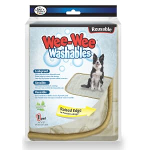 Four Paws Wee-Wee Washables House Breaking Pad for $12