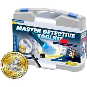 Thames & Kosmos Master Detective 33-Piece Toolkit for $50