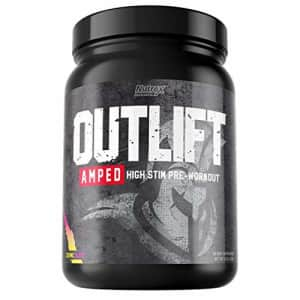 Nutrex Research Outlift Amped | Premium High Stim Pre Workout for Men and Women with Intense Energy for $35