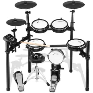 Donner 8-Piece Electric Drum Kit for $301