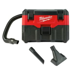 Milwaukee M18 18V 2-Gallon Wet/Dry Vacuum (No Battery) for $108 in cart