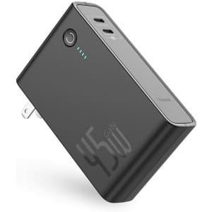 Baseus USB-C 10,000mAh Portable Power Bank for $40