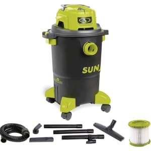 Sun Joe 5-Gallon 1,200W Wet/Dry Shop Vacuum for $149