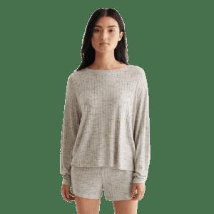 Lucky Brand Women's Cloud Jersey Rib Tee for $15
