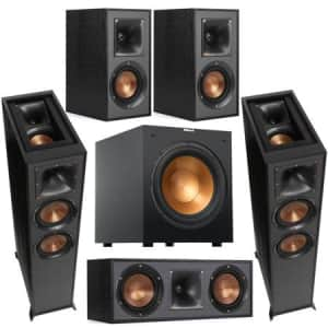 Klipsch Reference Series 5.1 Home Theater System for $869