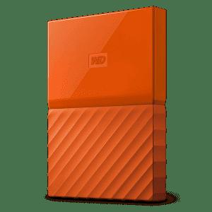 WD My Passport 3TB USB 3.0 External Hard Drive for $64