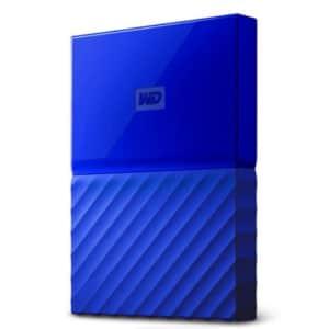 WD 2TB My Passport USB 3.0 Portable Hard Drive for $50