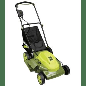 "Refurb Sun Joe 12A 20"" Electric Lawn Mower for $100"