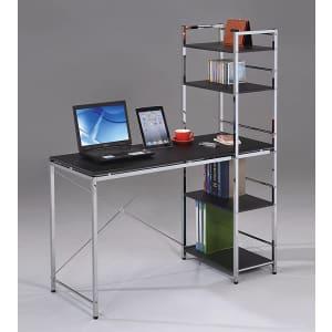 Acme Furniture Elvis Computer Desk with Shelves for $100