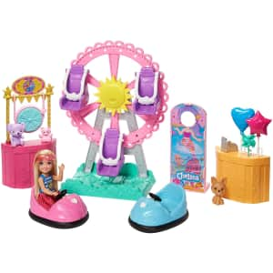 Barbie Club Chelsea Doll and Carnival Playset for $25