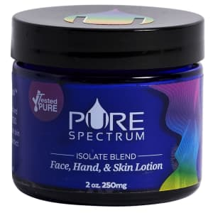 Pure Spectrum 250mg Lotion Isolate Blend for $17