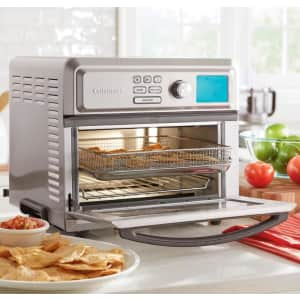Cuisinart 1,800W 0.6-Cu. Ft. Digital AirFryer Toaster Oven for $120