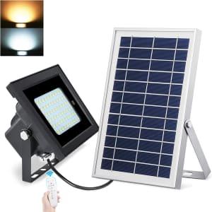 Uponun Solar Flood Light for $26