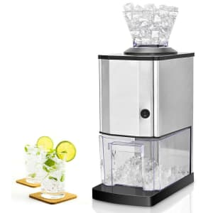 Costway Electric Stainless Steel Ice Crusher for $69