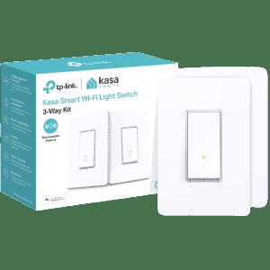 Kasa Smart 3-Way Smart Switch Kit 2-Pack for $33