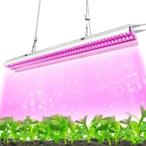 Monios-L T5 2-Foot LED Grow Light for $23