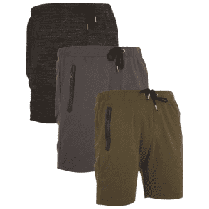 Nextex Men's French Terry Shorts 3-Pack for $29