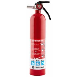 First Alert Standard Home Fire Extinguisher for $18