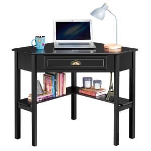 Easyfashion Corner Computer Desk for $79