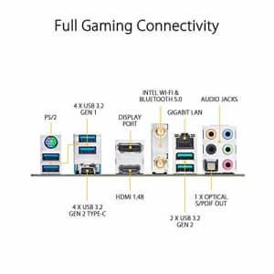 ASUS TUF GAMING X570-PLUS Motherboard ,WI-FI, Socket AM4, USB-C Gen2 AMD (Renewed) for $150