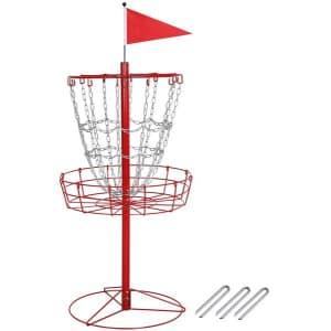 SmileMart 12-Chain Disc Golf Basket for $60