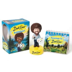 Bob Ross Talking Bobblehead Kit for $6