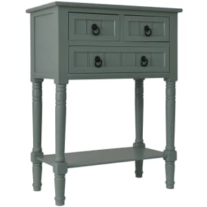 Decor Therapy 3-Drawer Wood Console Table for $91