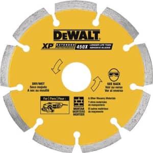 DEWALT DW4739 0.250 XP Diamond Tuck Point Blade, 6-Inch for $71