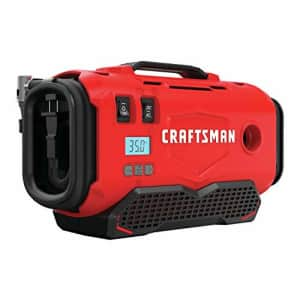 CRAFTSMAN V20 Inflator, Tool Only (CMCE520B),Red for $74