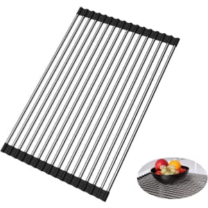 Ousa Roll Up Dish Drying Rack for $7