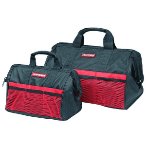 Craftsman 2-Piece Ballistic Nylon Tool Bag Set for $10