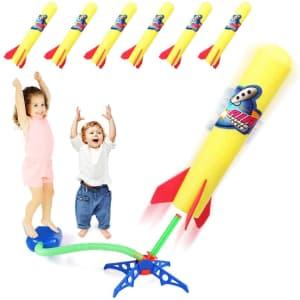 Duckura Kids Jump Rocket Launcher for $10