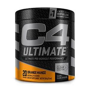 Cellucor C4 Ultimate Pre Workout Powder Orange Mango - Sugar Free Preworkout Energy Supplement for Men & for $40