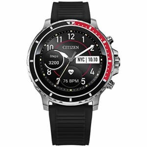 Citizen CZ Smart 46mm Stainless Steel Smartwatch Touchscreen, Heartrate, GPS, Speaker, Bluetooth, for $325