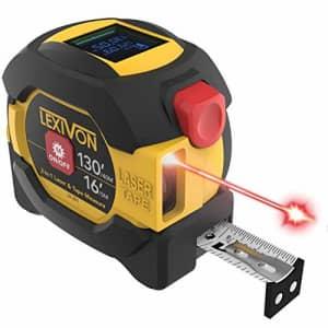 Lexivon 2-in-1 Digital 130-Foot Laser / 16-Foot Tape Measure for $39
