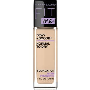 Maybelline New York Fit Me Dewy + Smooth Foundation Makeup for $3