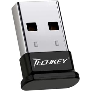 Techkey USB Mini Bluetooth 4.0 EDR Dongle Adpater for $10